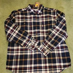 Carhartt plaid flannel shirt